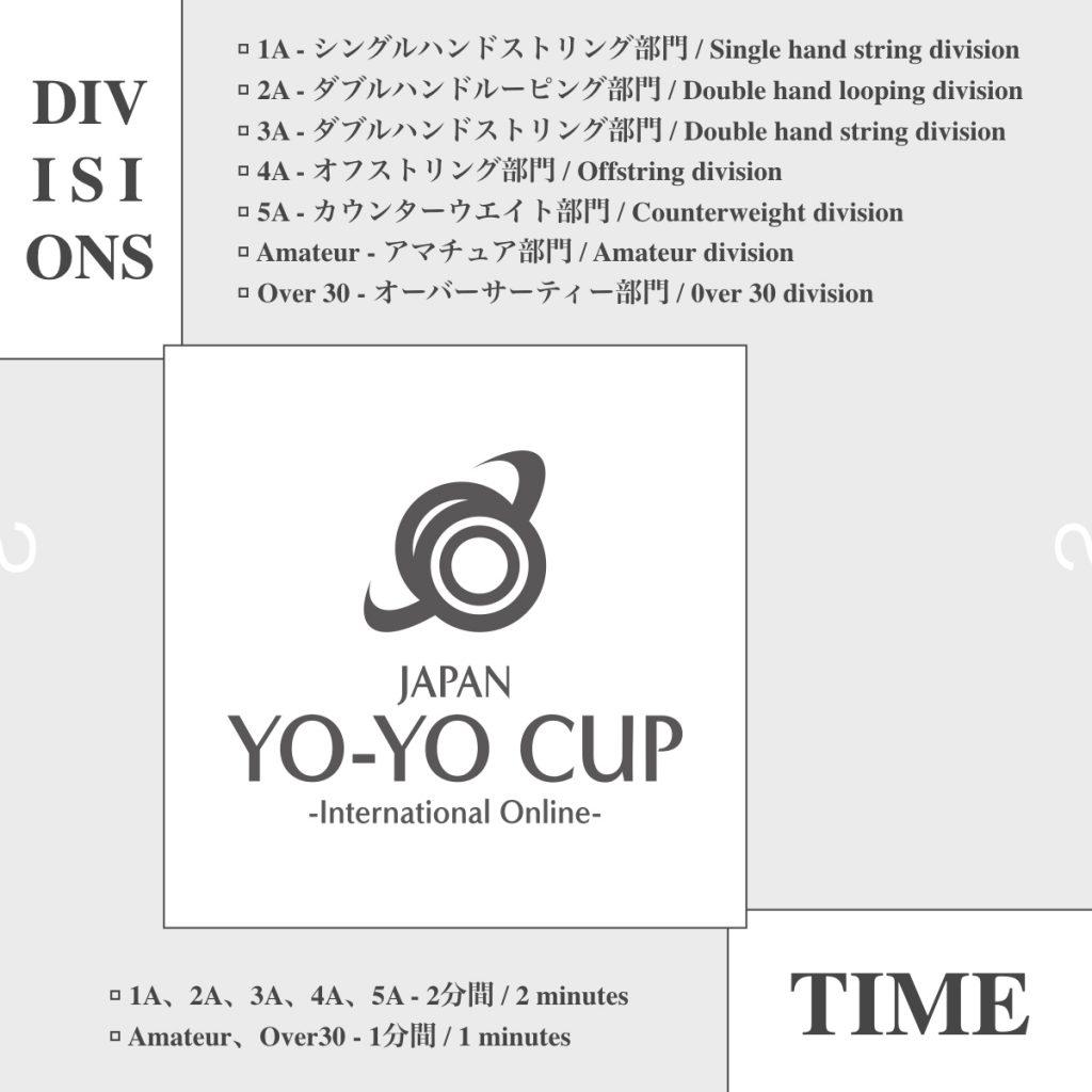 開催部門・競技時間を発表!