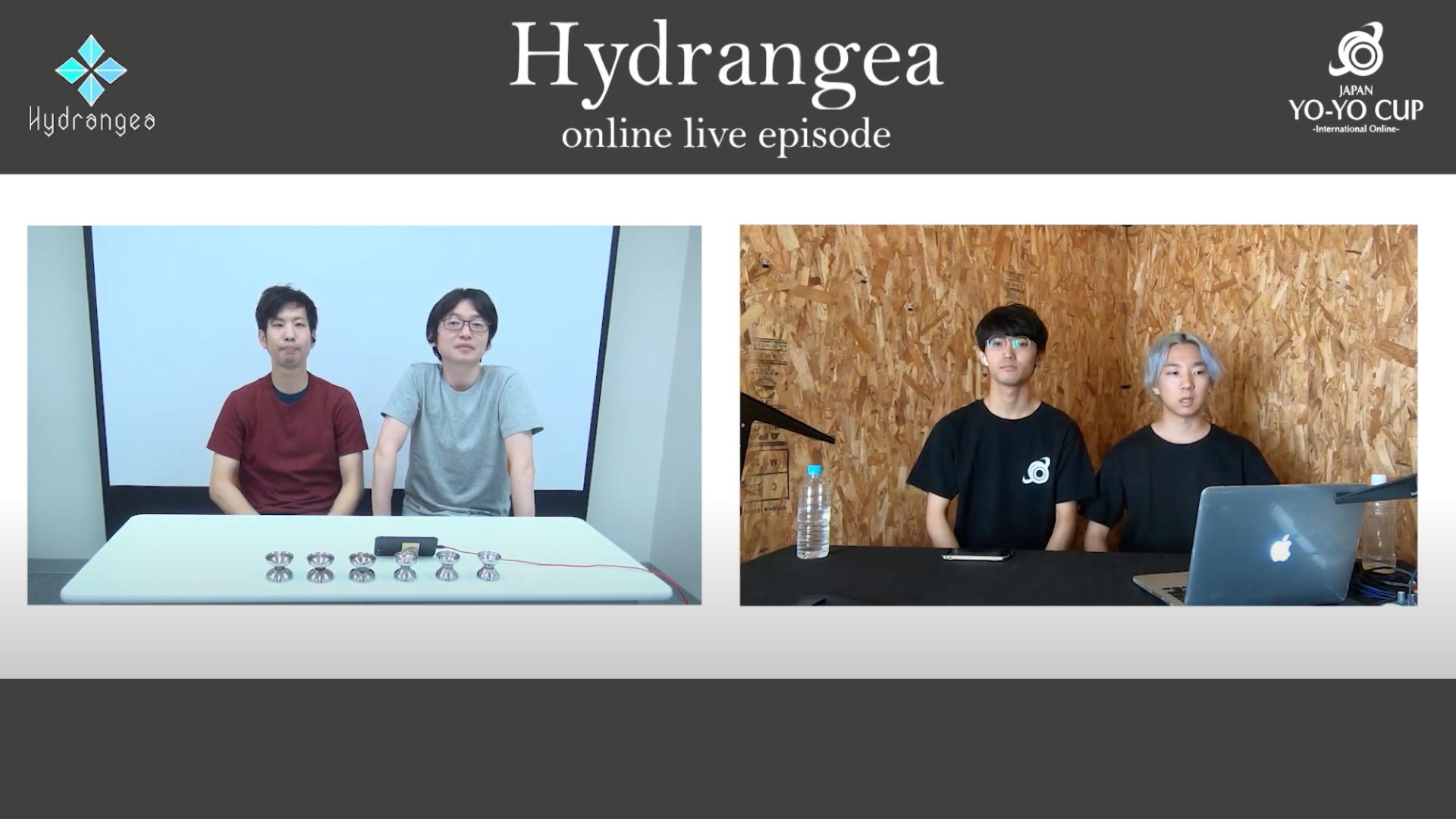 "#JYYCIO ""Hydrangea"" ONLINE LIVE EPISODE UPROADED!!"