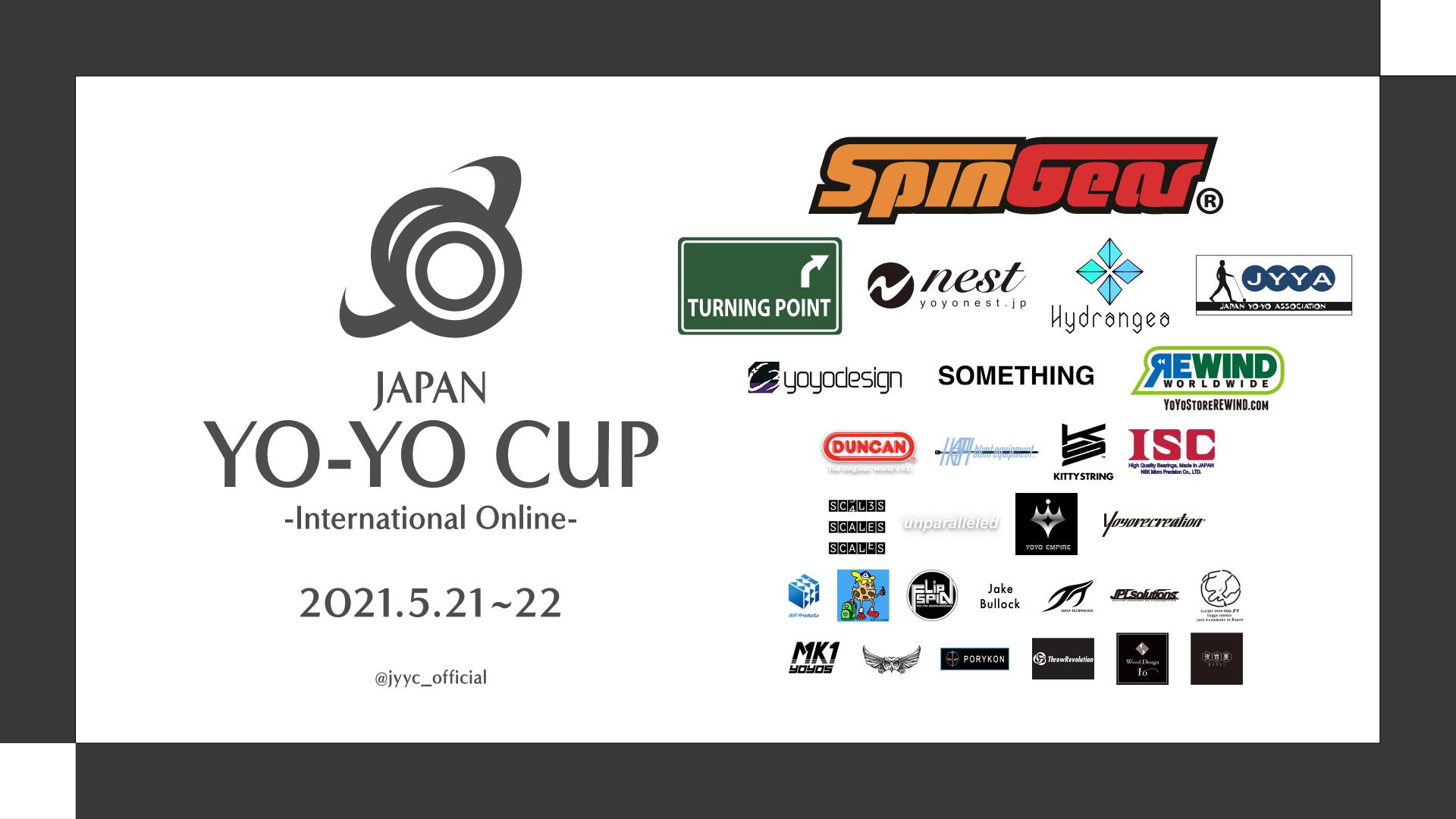 """""""JAPAN YO-YO CUP -International Online- 2021""""#JYYCIO"""